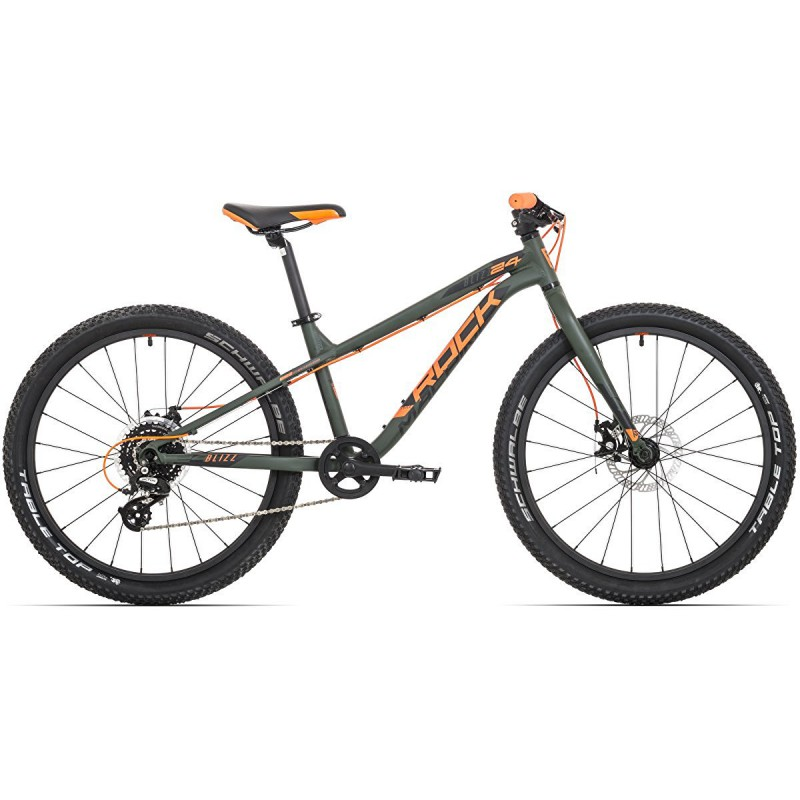 "THUNDER 24"" dětské kolo ROCK MACHINE Shimano Altus 1x8 model 2019"