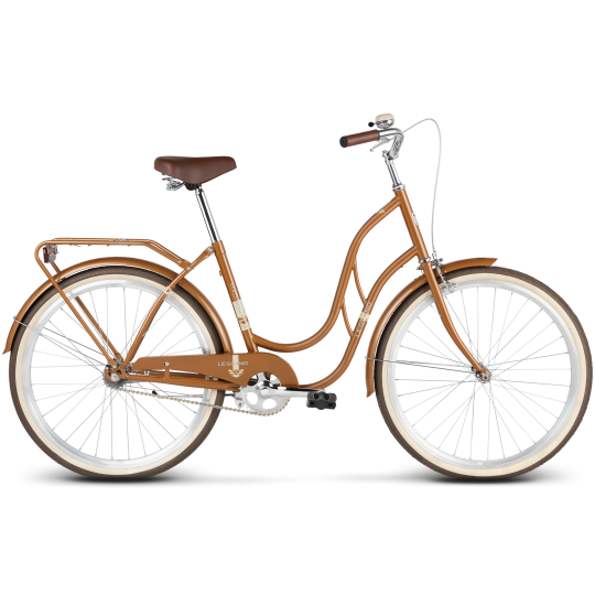 "LE GRAND MADISON 1 městské kolo-28"" brown glossy  model 2020"