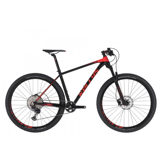 KELLYS CLIFF 90 BLACK-RED MATT MODEL 2017 9-SPEED HIDR.DISK