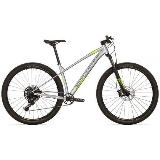 "Rock Machine Torrent 60-MTB-29"" gloss light grey Shimano Deore 1x11 model 2021"