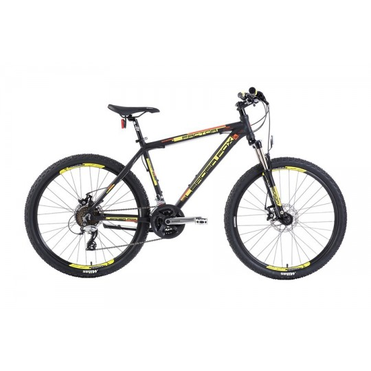"LEADER FOX FACTOR 26"" MECH DISK MODEL 2017 BLACK MATT"